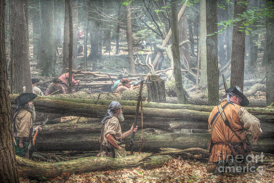 Forest Ambush Digital Art By Randy Steele