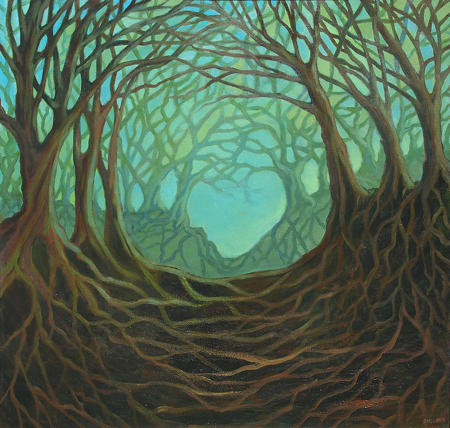 Forest Painting - Forest Dream by Suzanne Shelden