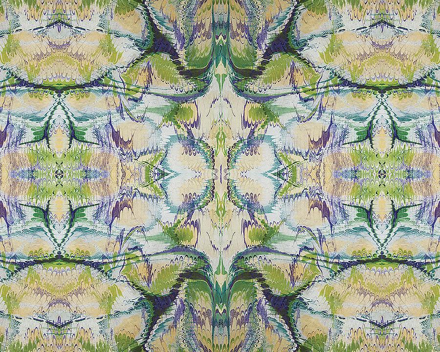 Forest Falls Digital Art by Trudy Thomson