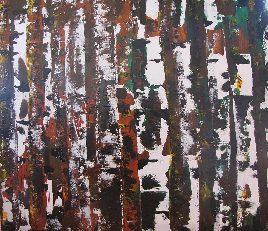 Abstract Painting - Forest For The Trees by Gary Smith