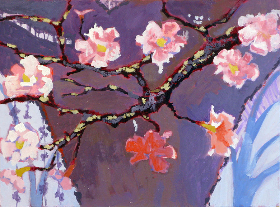 Blossom Painting - Forest In Bloom by Robert Bissett