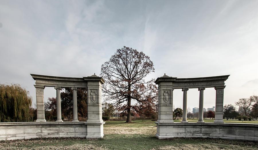Forest Park Photograph - Forest Park Columns by Steven Jones