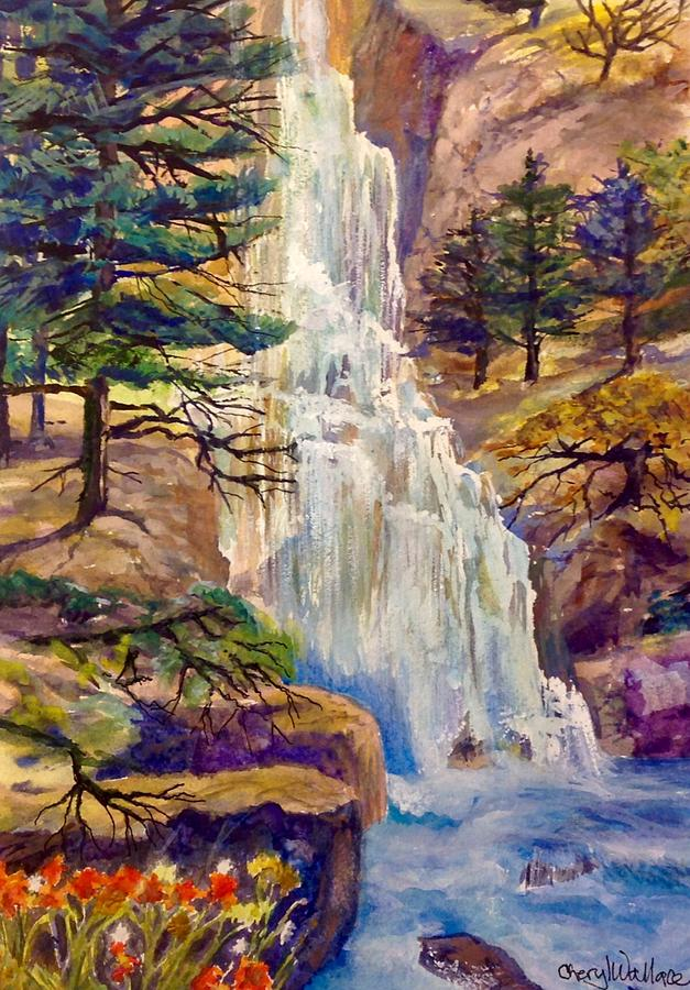 Landscape Painting - Forest Primeval by Cheryl Wallace