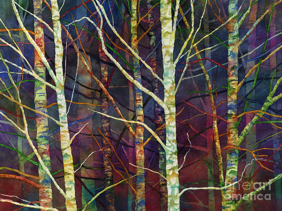 Forest Rhythm Painting