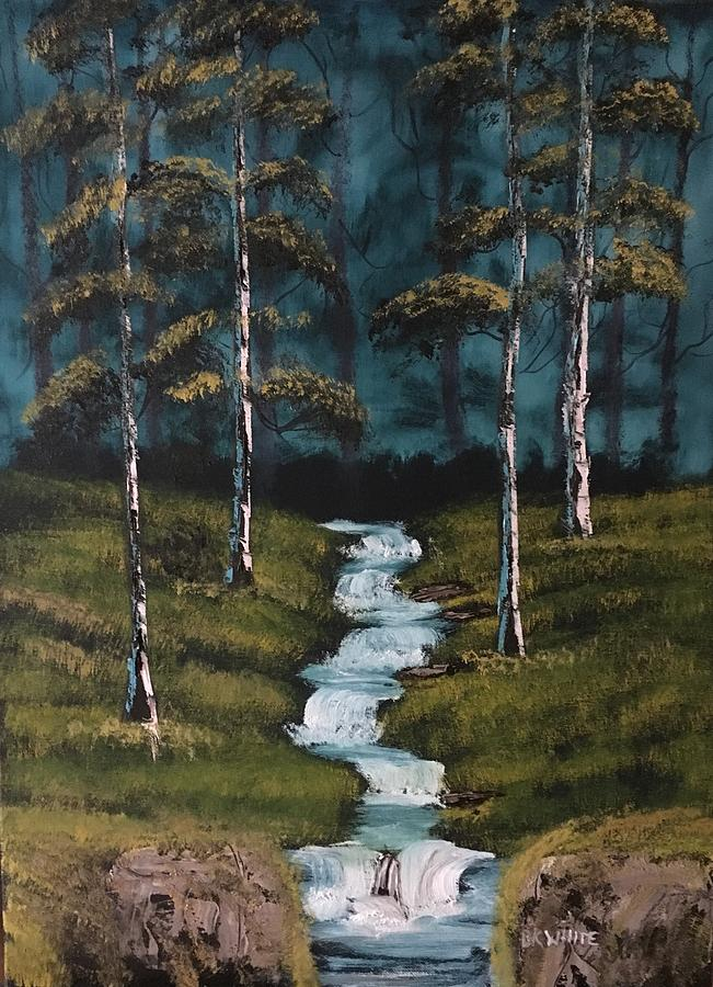 Forest Stream by Brian White