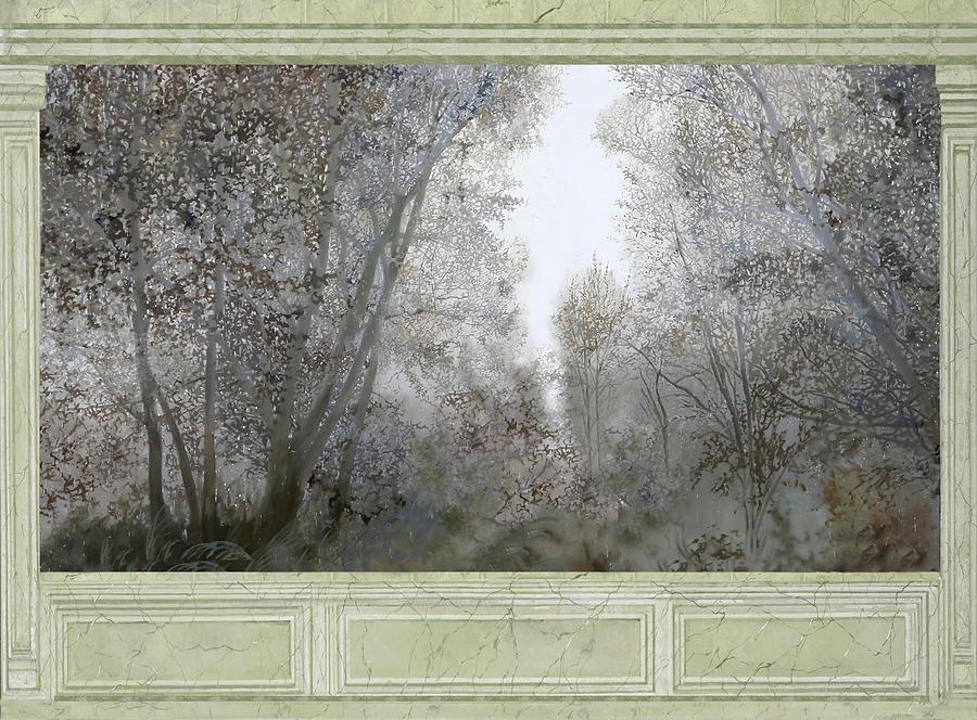 Foresta Di Marmo Fitto Painting