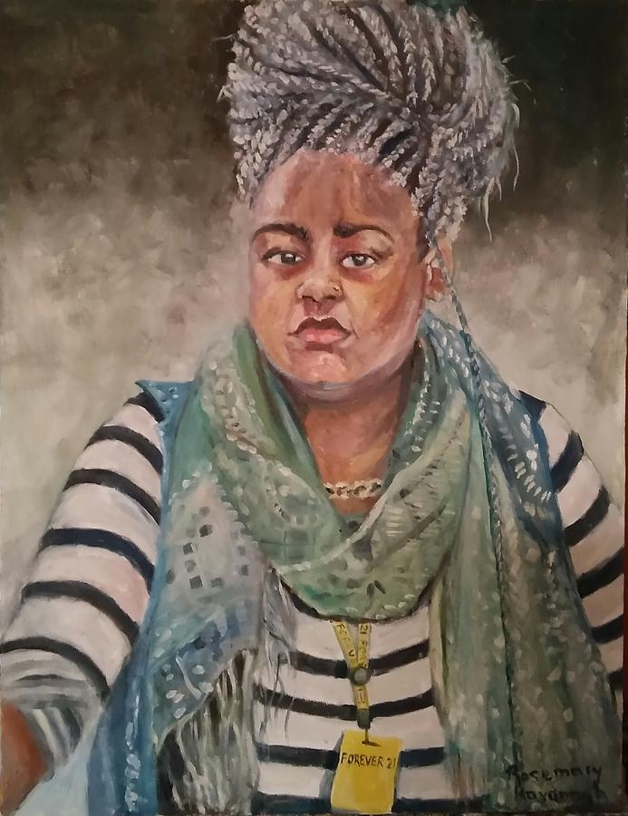African American Painting - Forever 21  by Rosemary Kavanagh