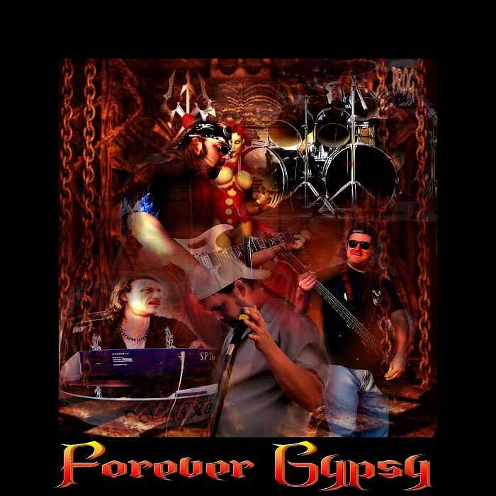 Mods Digital Art - Forever Gypsy by Susan Brewer