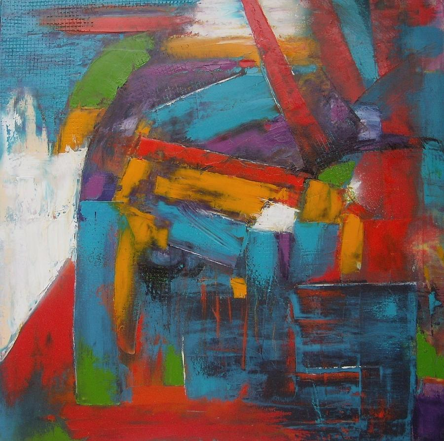 Abstract Painting - Forex by MiMa Kostova