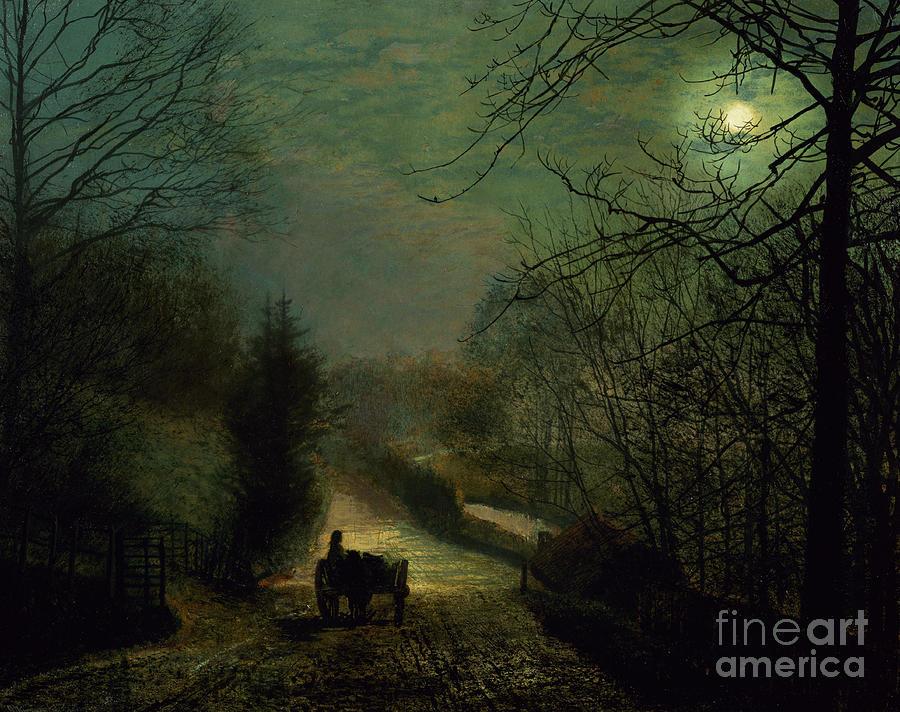 John Atkinson Grimshaw  - Page 3 Forge-valley-john-atkinson-grimshaw