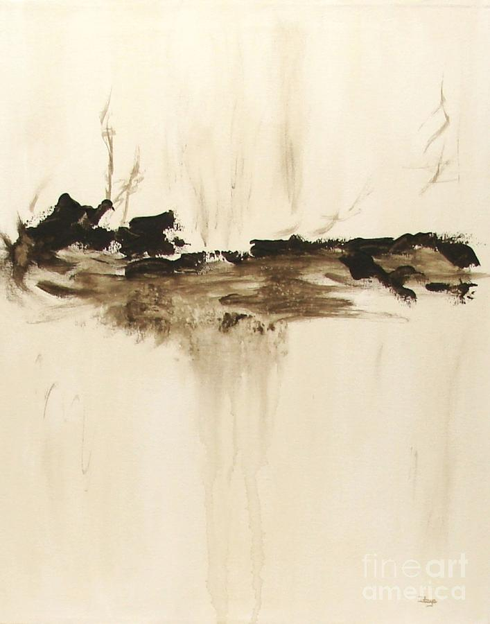 Abstract Painting - Forgotten   by Itaya Lightbourne