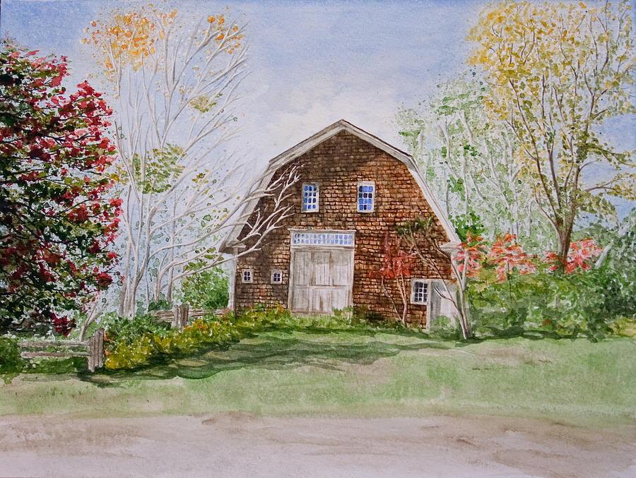 Landscape Painting - Forgotten Beauty by Monika Degan