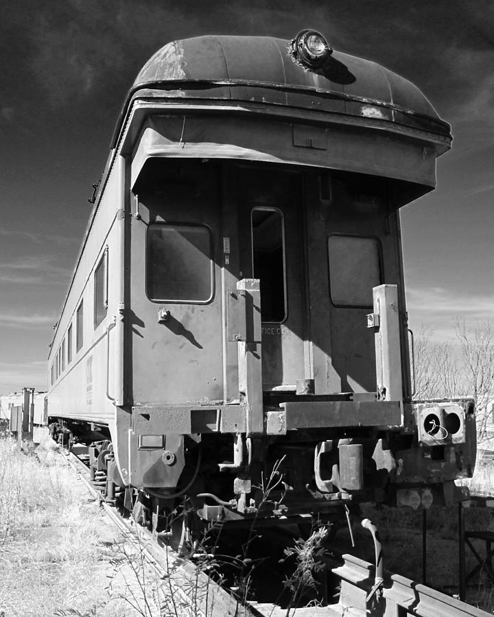Train Photograph - Forgotten Beauty by Slade Roberts