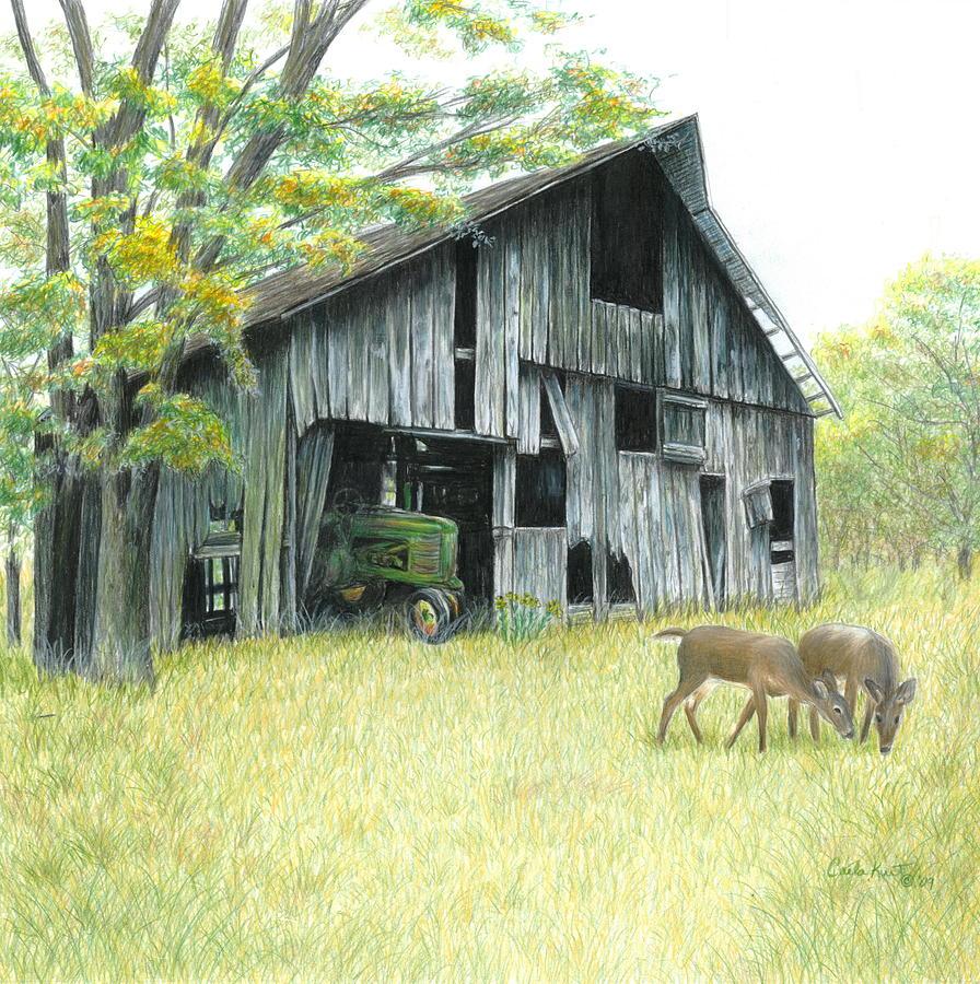 Landscape Painting - Forgotten by Carla Kurt