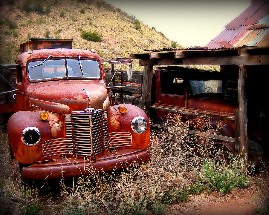 Car Photograph - Forgotten Classics by Perry Webster