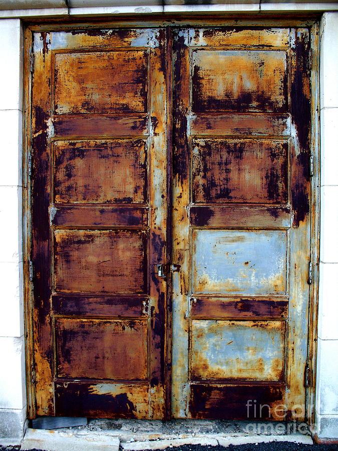 Door Photograph - Forgotten Door by Chuck Taylor & Forgotten Door Photograph by Chuck Taylor