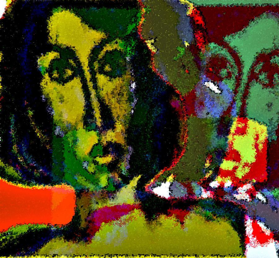 Vision Mixed Media - Forgotten Dream 1 by Noredin Morgan