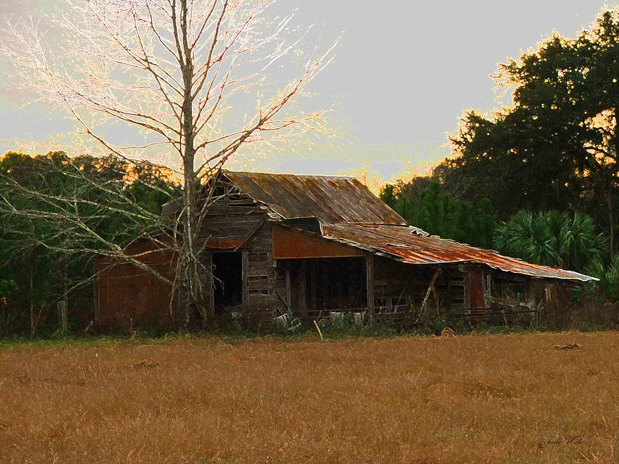Old Photograph - Forgotten Dreams by Judy  Waller
