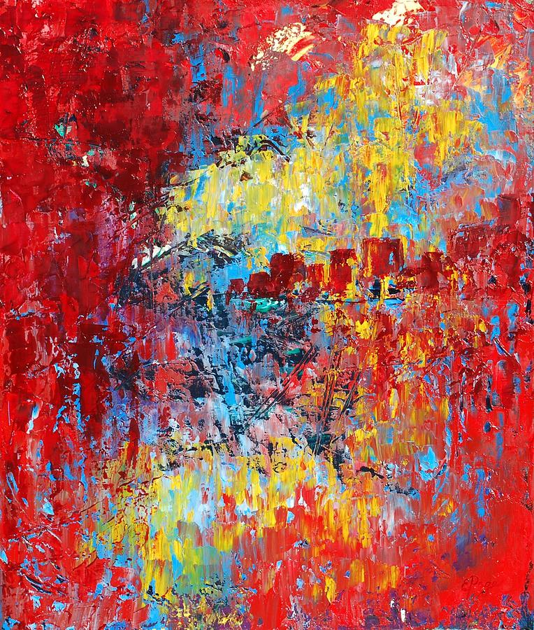 Abstract Painting - Forgotten by Emily Page