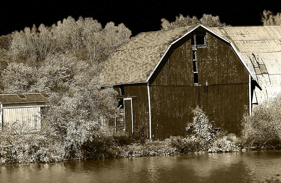 Hovind Photograph - Forgotten Farm by Scott Hovind