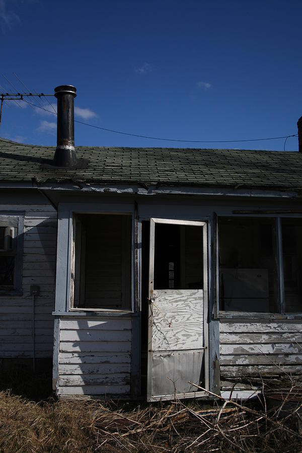 House Photograph - Forgotten by Julie Bromley