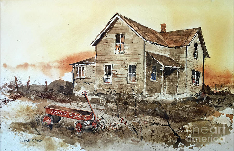 Forgotten Painting by Monte Toon