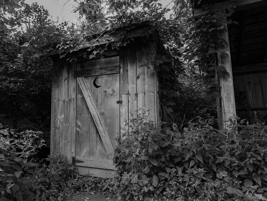 Outhouse Photograph - Forgotten Outhouse by Denise McKay