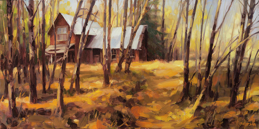 Country Painting - Forgotten Path by Steve Henderson