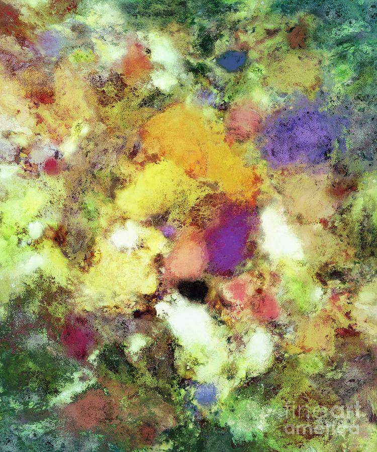 Flowers Digital Art - Forgotten Petals by Keith Mills