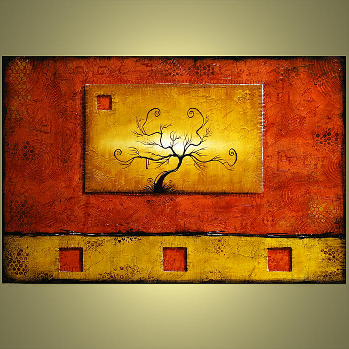 Abstract Painting - Forgotten Sold by Jacob Pazera