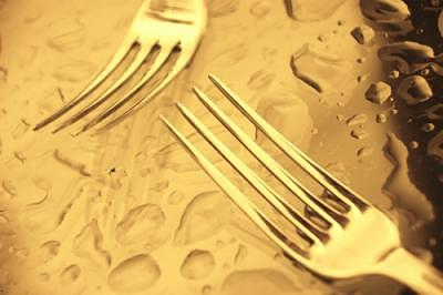Fork Photograph - Forks by Jean-Francois  Dupuis