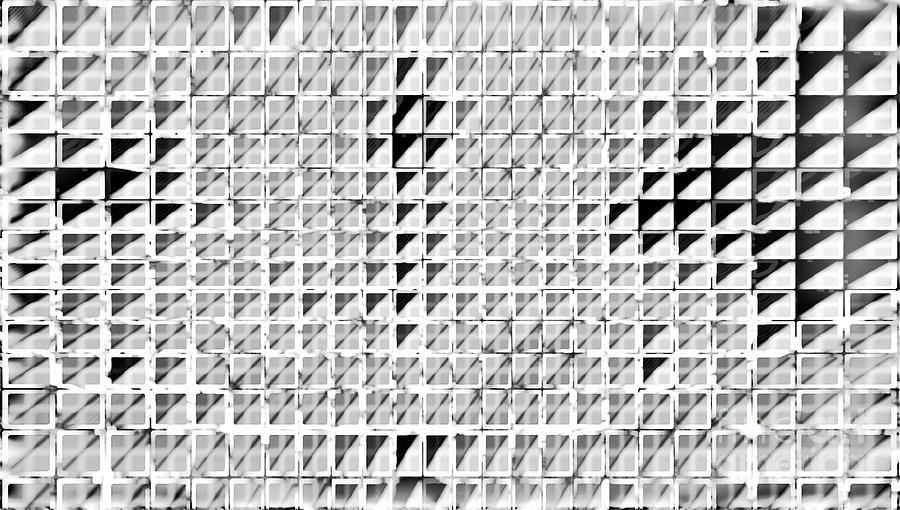 Formart 3 Geometry-design Mixed Media