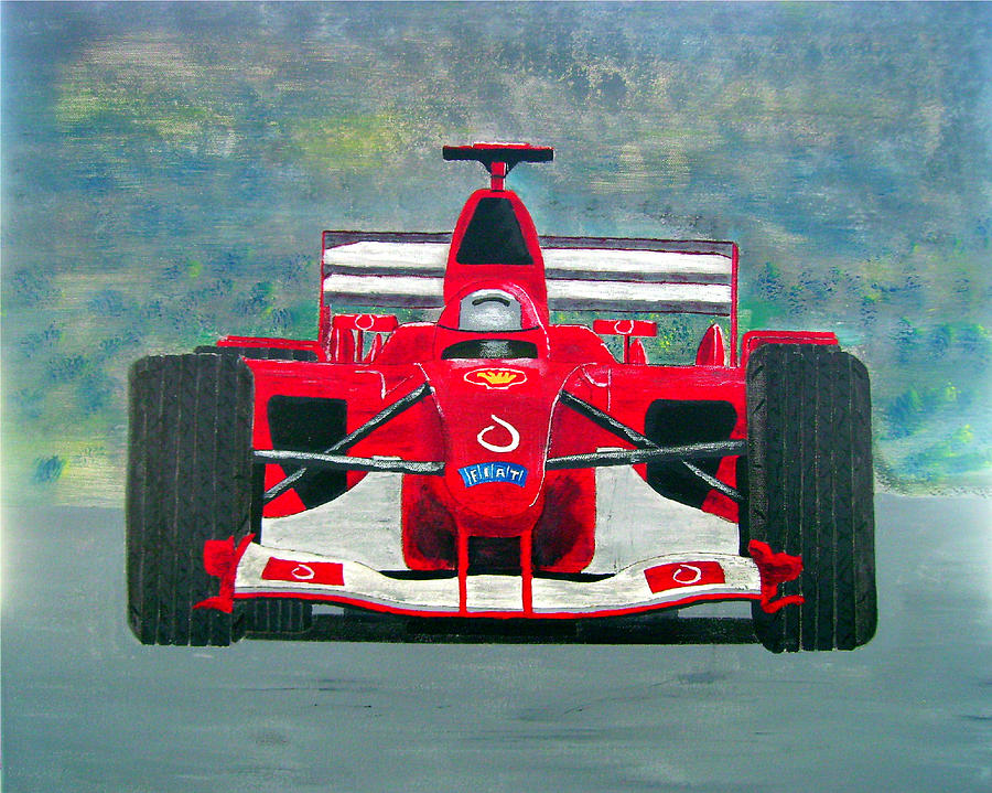Painting Painting - Formula 1 by Ken Pursley
