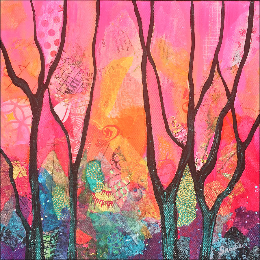 Forrest Energy II Painting