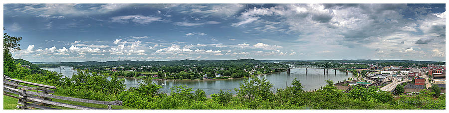 Fort Boreman Lookout by Roman Wilshanetsky