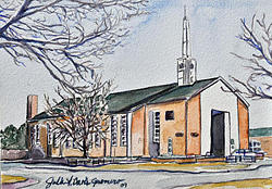 Soldier's Memorial Chapel by Julie Davis Veach