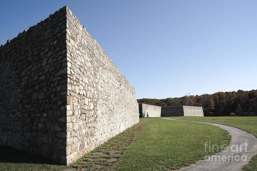 Colonial Photograph - Fort Frederick In Maryland by William Kuta