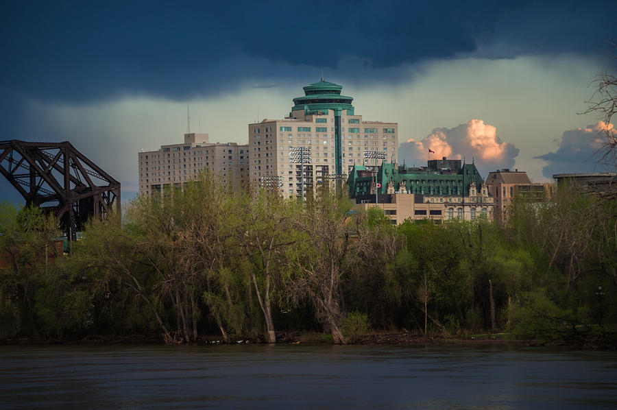 Architecture Photograph - Fort Garry Hotel/fort Garry Place by Bryan Scott
