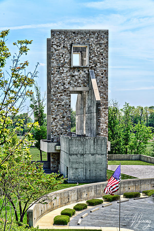 Fort Indiantown Gap From Parking Lot Photograph by Joshua Zaring on