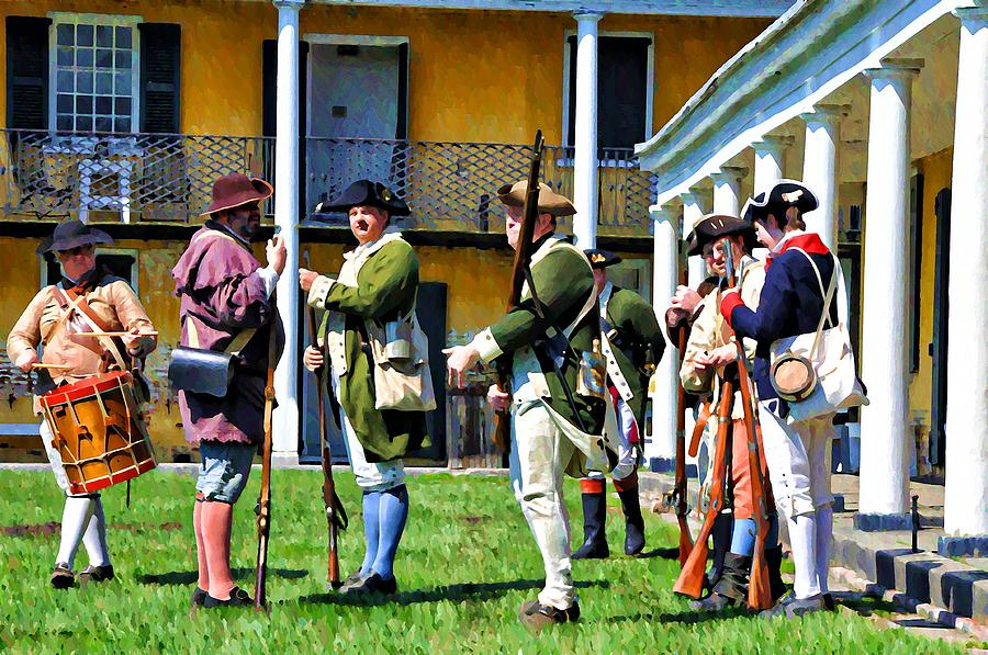 Soldiers Photograph - Fort Mifflin - Philadelphia by Bill Cannon