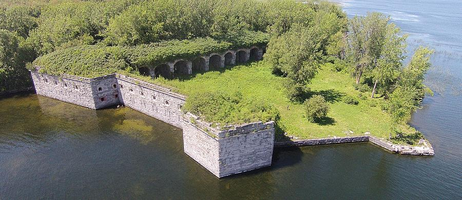 Fort Photograph - Fort Montgomery by Jedidiah Thone