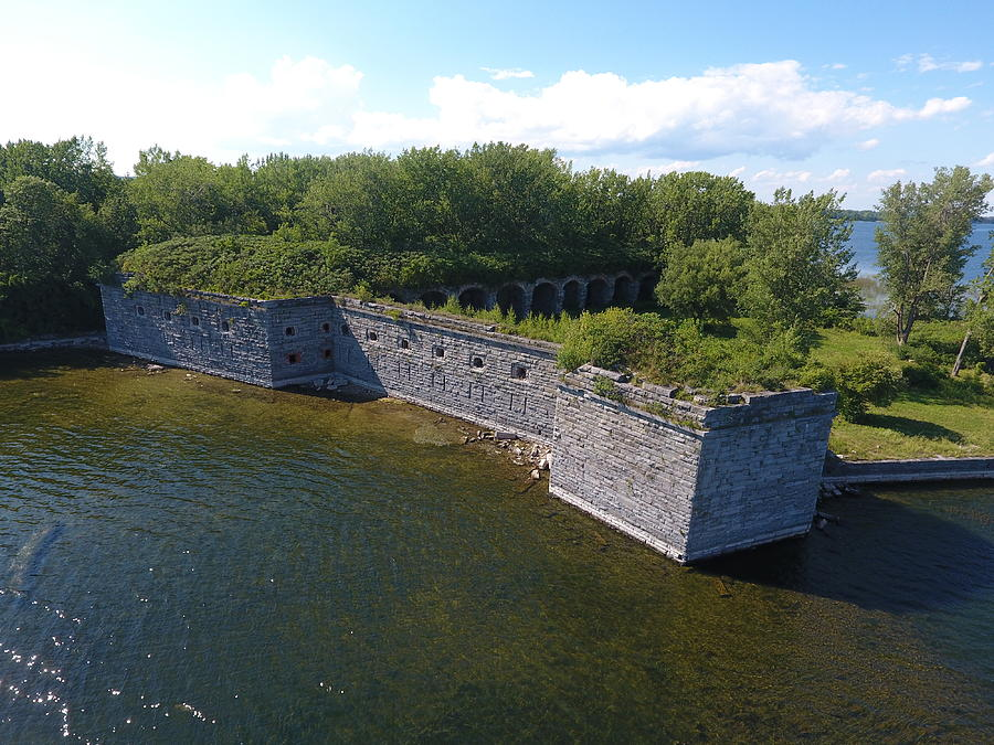Fort Photograph - Fort Montgomery Summer by Jedidiah Thone