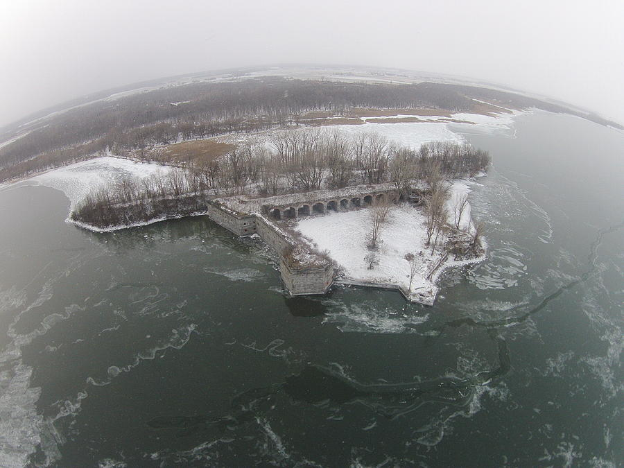 Fort Montgomery Winter by Jedidiah Thone