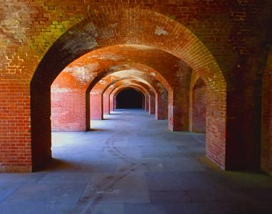 Fort Photograph - Fort Point by Dave Montero
