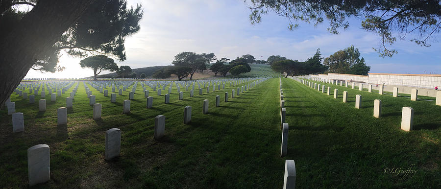Fort Rosecrans National Cemetery by Lynn Geoffroy