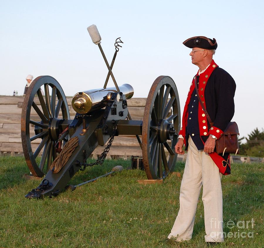 Diane Berry Photograph - Fort Stanwix Cannon Ready by Diane E Berry