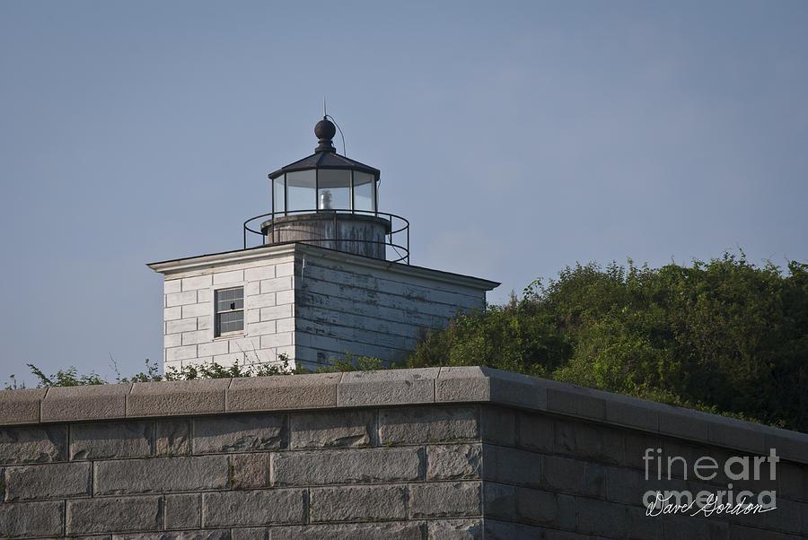 David Photograph - Fort Taber Lighthouse by David Gordon