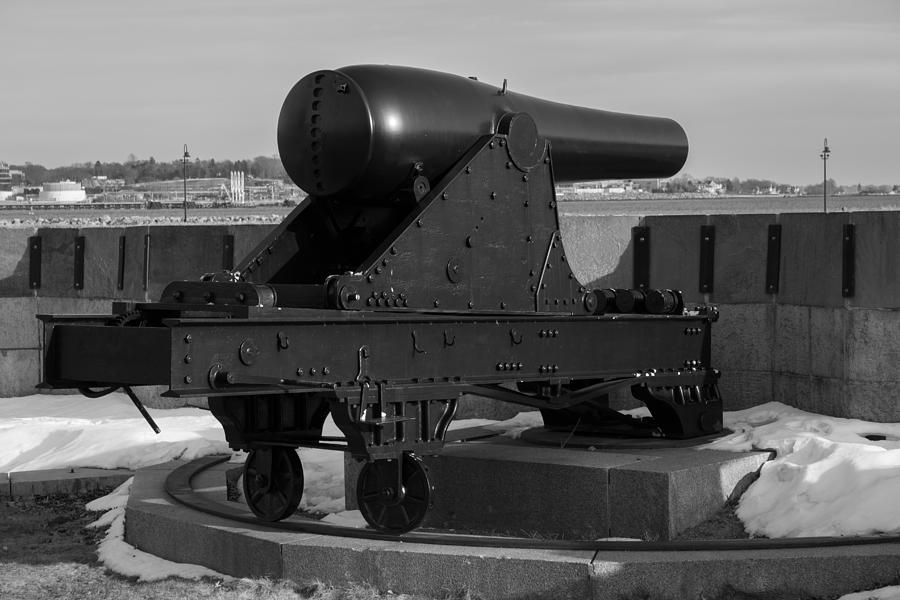 Cannon Photograph - Fort Trumbull Cannon by Kirkodd Photography Of New England