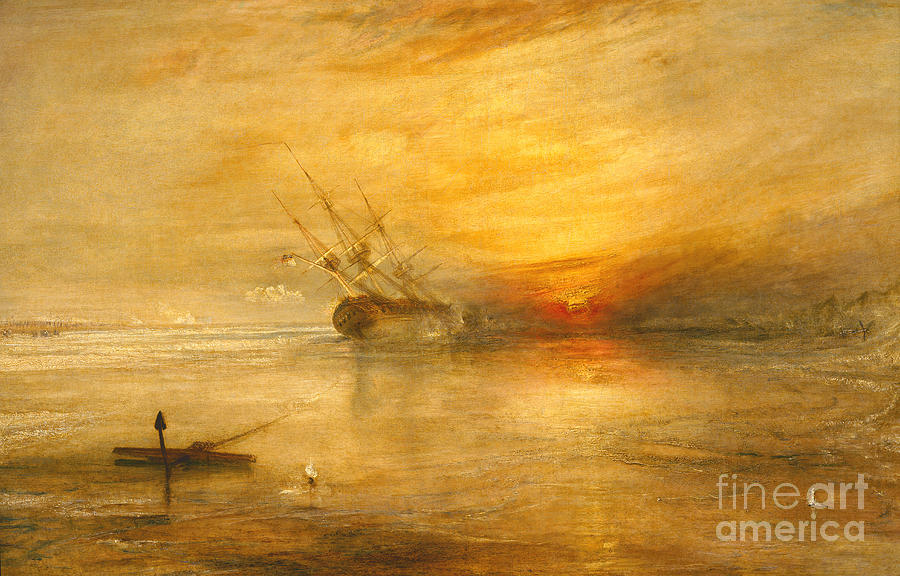 Fort Painting - Fort Vimieux by Joseph Mallord William Turner