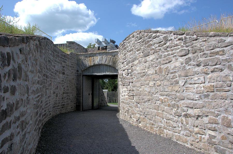 Fort Wellington Entrance by Valerie Kirkwood
